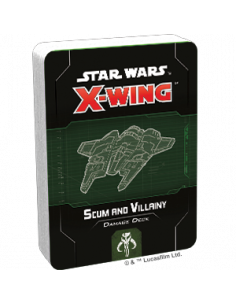 Star Wars X-Wing 2.0 Scum and Villainy Damage Deck