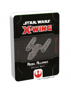 Star Wars X-Wing 2.0 Rebel Alliance Damage Deck