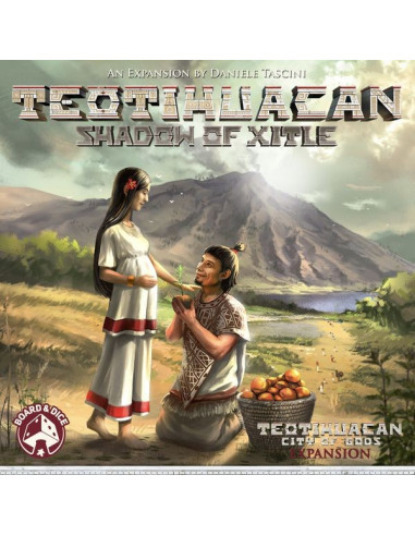 Teotihuacan Shadow of Xitle