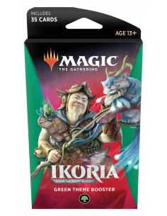 Magic Ikoria Lair of Behemoths Theme Booster Green