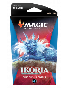 Magic Ikoria Lair of Behemoths Theme Booster Blue