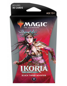 Magic Ikoria Lair of behemoths Theme Booster Black