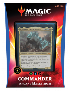 Magic Commander Deck 2020 Arcane Maelstrom