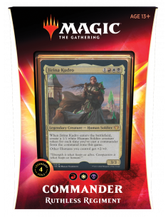Magic Commander Deck 2020 Ruthless Regiment