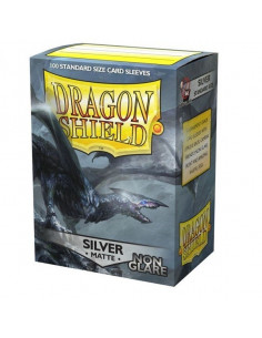 Dragon Shield Matte Non-Glare Silver(100)