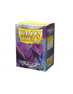 Dragon Shield Matte Non-Glare Purple(100)