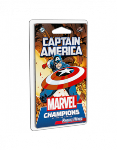 Marvel Champions Card Game Captain America Hero Pack