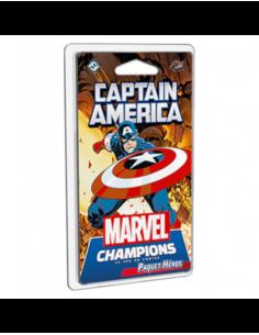 Marvel Champions Card Game Captain America Hero Pack