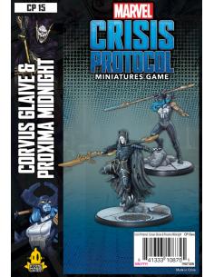 Marvel Crisis Protocol Corvus Glaive and Proxim