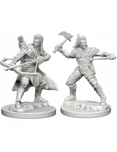 D&D Nolzur´s Miniatures Male Human Ranger