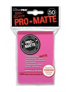 Card Sleeves Pro-Matte Bright Pink