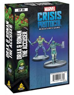 Marvel Crisis Protocol Drax & Ronan the Accuser
