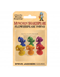 Munchkin Shakespear Flower Pawns