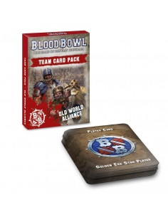BLOOD BOWL:OLD WORLD ALLIANCE TEAM CARD PACK