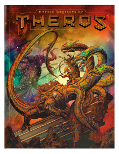 D&D 5th Edition Mythic Odysseys of Theros Alternative Cover