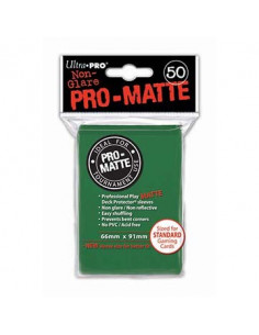 Card Sleeves Pro-Matte Green