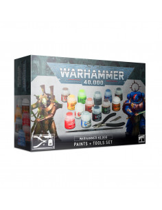WARHAMMER 40k PAINTS + TOOLS