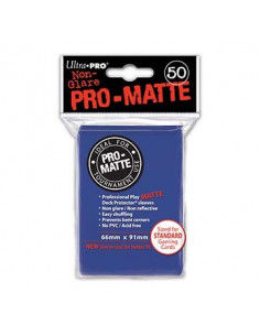 Card Sleeves Pro-Matte Blue