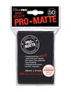 Card Sleeves Pro-Matte Black