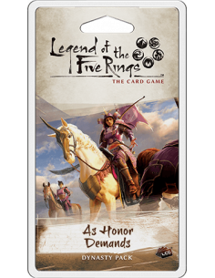 Legend of the Five Rings LCG As honor Demands Dynasty pack