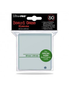 Sleeves BG Silver 69x69mm