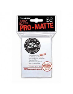 Card Sleeves Pro-Matte White