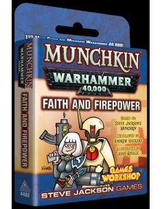Munchkin Warhammer 40K Faith & Firepower