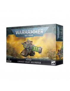 NECRONS LOKHUSTS HEAVY DESTROYER SLÄPPS 10/10