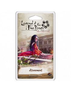 Legend of the Five Rings LCG Atonement Dynasty Pack