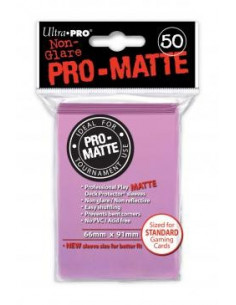 Card Sleeves Pro-Matte Pink