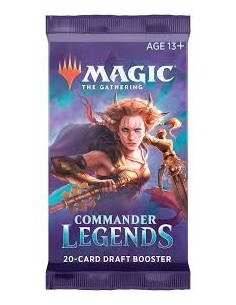 Magic Commander Legends Draft Booster