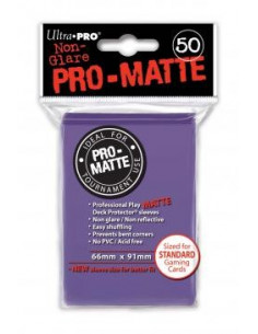 Card Sleeves Pro-Matte Purple