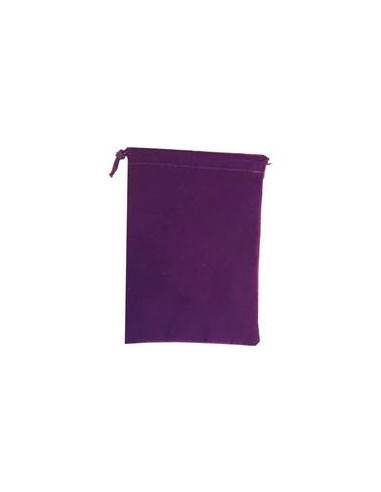 Large Suedecloth Dice Bag (5x7) - Purple