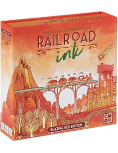Railroad Ink Blazing Red...