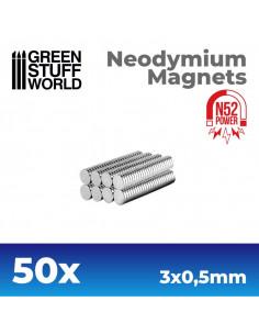 Neonydium Magnets 3x0,5mm...
