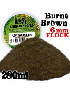 Nylon Flock 6mm Burnt Brown...