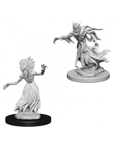 D&D Nolzur´s Miniatures Wraiths &...