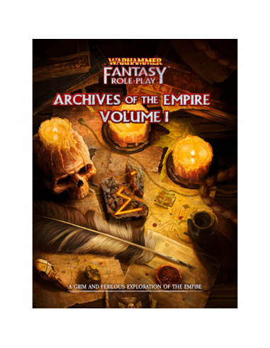 Warhammer RPG Archives of the Empire...