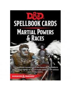 D&D Martial Powers & Races Spell Deck
