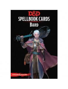 D&D 5th Ed. Bard Spell Deck
