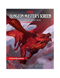 D&D 5th Ed. Dungeon Master Screen Reincarnated