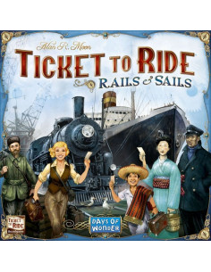 Ticket to Ride Rails & Sails Scandi